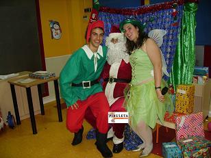 Animaci n especial navidad - Casa papa noel madrid ...